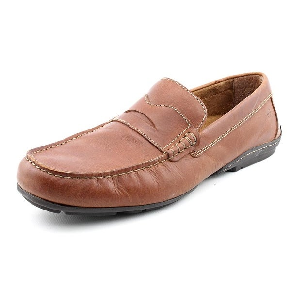 Rockport Chaden Men W Square Toe Leather Tan Loafer