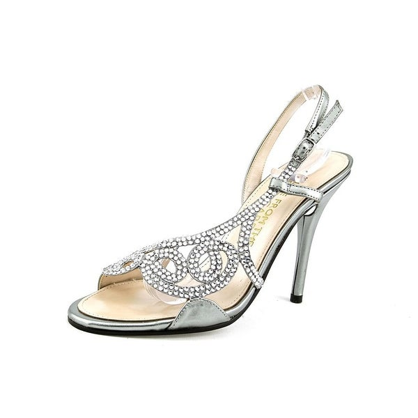 E! Live From The Red Carpet E0014 Women Open Toe Synthetic Silver Sandals