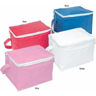 TrailWorthy 060-A6PKP Insulated 6-pack Cooler (Case of 25) - Pink