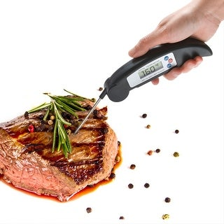 Agptek Fast Accurate High-Performing Digital Meat BBQ Grill Thermometer with Probe - SIZE
