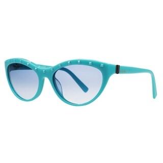 Valentino V 641/S 440 Turquoise Cateye Sunglasses