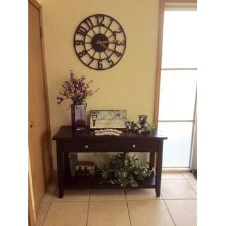 Pleasing Shop Furniture Of America Buldgewin Espresso 2 Drawer Sofa Ibusinesslaw Wood Chair Design Ideas Ibusinesslaworg