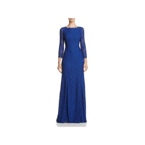 Adrianna Papell Womens Evening Dress Lace Special Occasion