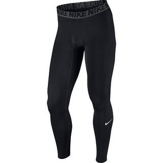 NIKE Men's Base Layer Training Tights,, Black/Dark Grey/White, Size XX-Large