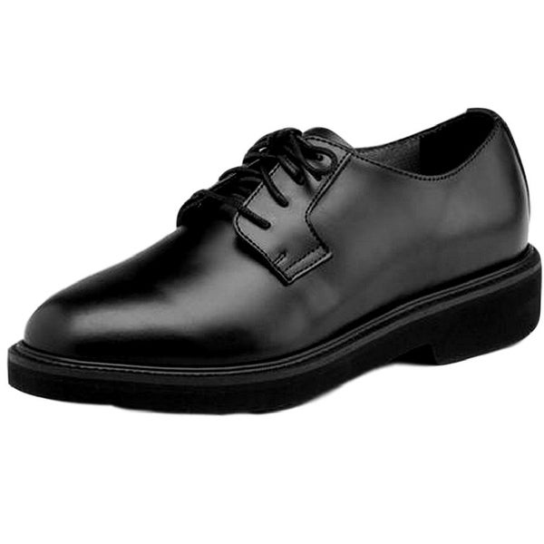 Rocky Work Shoes Mens Polishable Dress Leather Oxford Black