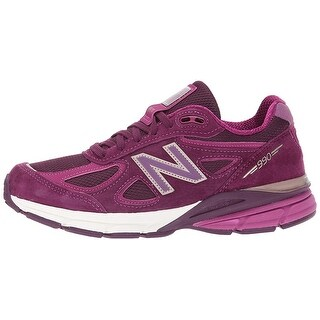 New Balance Mens M990V4 Low Top Lace Up Walking Shoes