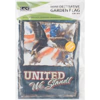 "Mini Garden Flag 12""X18""-United We Stand"