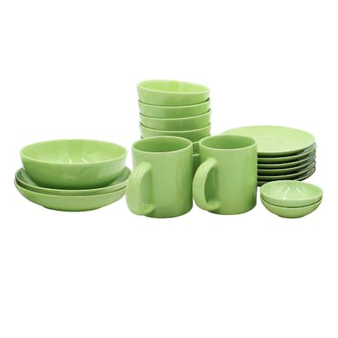 Casara 19 Piece Dinnerware Set