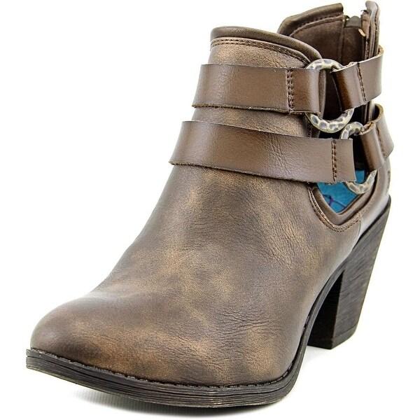 018cf8e1da3 Shop Blowfish Sucraa Women Round Toe Synthetic Ankle Boot - Free ...