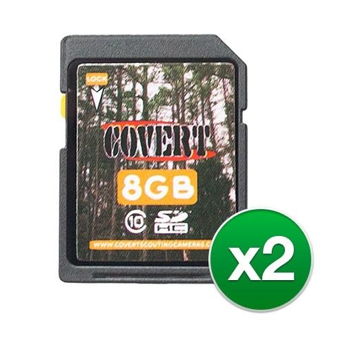 Covert 8 GB SD Memory Card (2-Pack) 8 GB Memory Card
