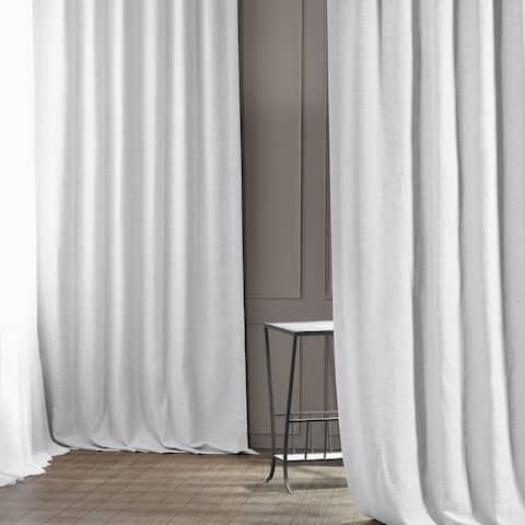 Exclusive Fabrics Chalk Off White Bellino Blackout Curtain