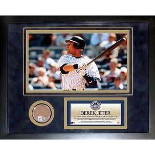Derek Jeter 2009 Yankees Mini Dirt Collage
