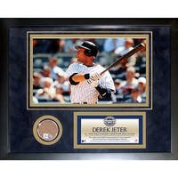 Derek Jeter 2009 Yankees Mini Dirt Collage