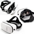 "Indigi® VR6 3D VR Virtual Reality Glasses for Android or iOS phones 4.5"" to 6.0"" Compatible - Thumbnail 0"