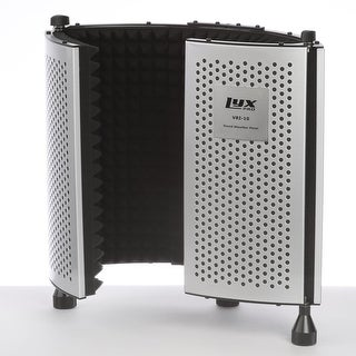 LyxPro VRI-10 Portable Adjustable Sound Absorbing Vocal Recording Panel