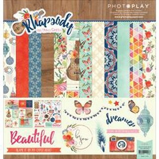 """Rhapsody - Photo Play Collection Pack 12""""X12"""""""