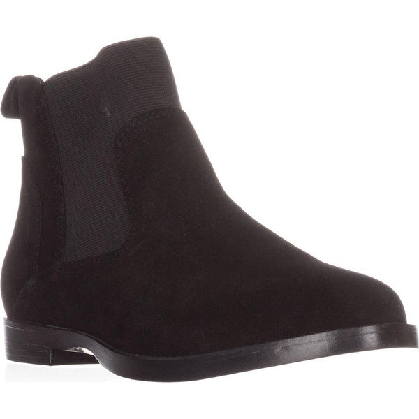 Bella Vita Rayna Ankle Booties, Black Suede