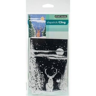 "Penny Black Cling Stamp 5""X7""-Sentinel"