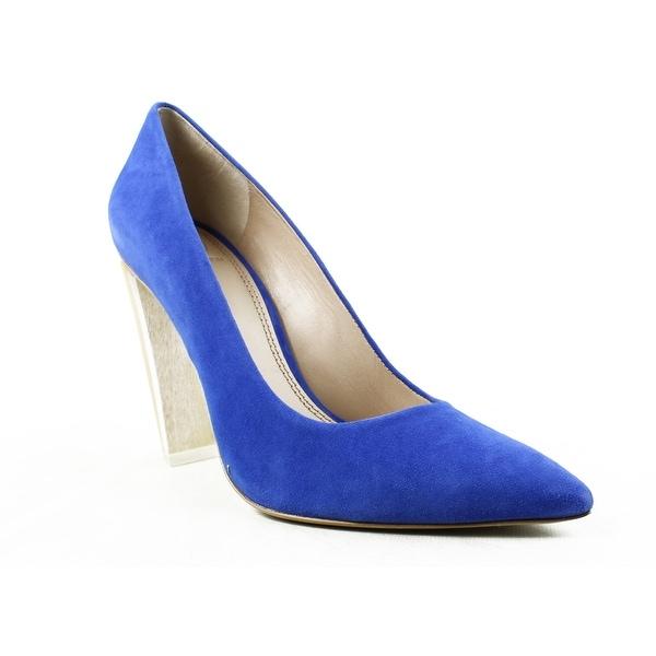 1779fca673d8 Shop Tory Burch Womens Silvana Blue Pumps Size 7.5 - Free Shipping ...