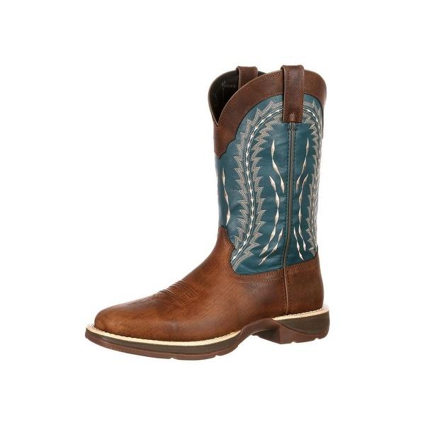 Durango Western Boots Mens Rebel Pull On Lightweight Brown DDB0093