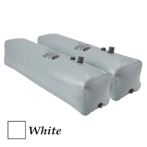 Fatsac side sac ballast bag - (pair) 260 pounds each - white w703-white