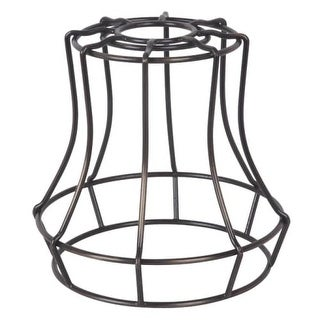 "Craftmade CG110 5.7"" x 5.6"" Mini Bell Pendant Cage for Medium (E26) Base Sockets"