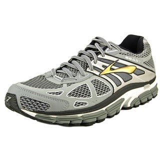 Brooks Beast '14 Men  Round Toe Synthetic Silver Running Shoe