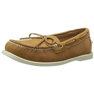 Dije California Mens Ellis Leather Slip On Boat Shoes - 8 medium (d)