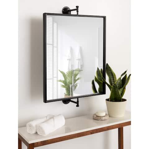 Kate and Laurel Darbridge Pivot Framed Mirror - 20x30