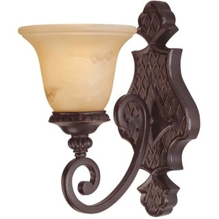 """Savoy House 9P-50216-1 Knight 1 Light 13.25"""" Tall Wall Sconce"""