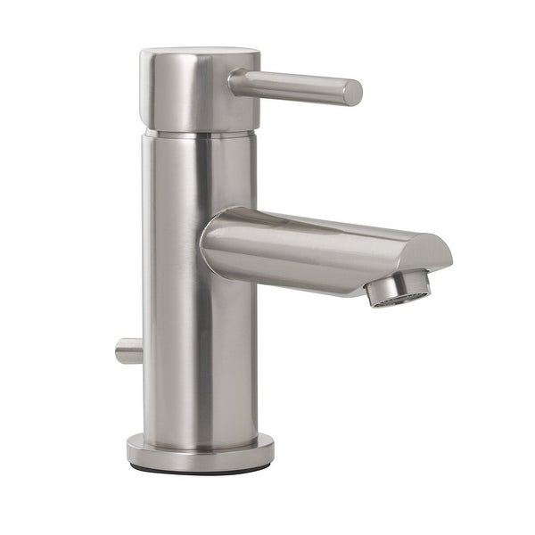 Jones Stephens 155924 Volos 1.2 GPM Single Hole Bathroom Faucet with Pop-Up Drain Assembly