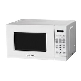 West Bend EM720CPI-PM Microwave, 0.7 Cu.ft, White