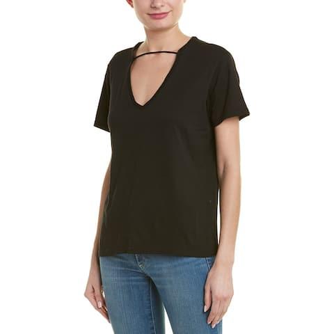 Monrow Choker T-Shirt