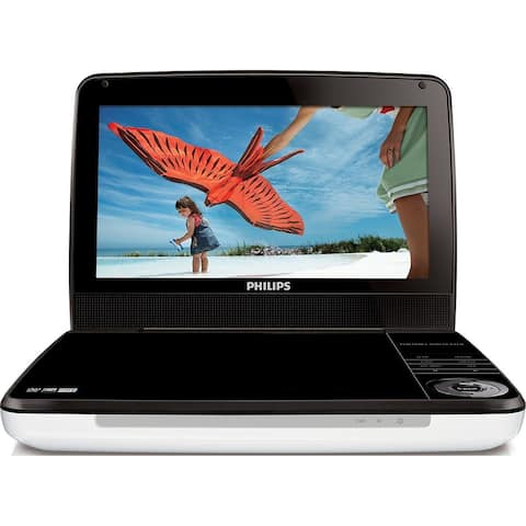 """Philips 9"""" LCD Portable DVD Player (Refurbished)"""