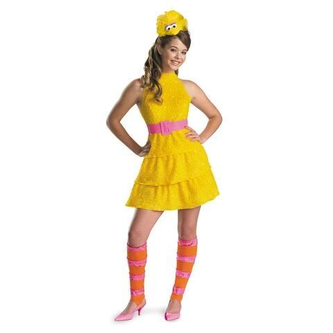 Disguise Sesame Street Big Bird Plush Tween Costume