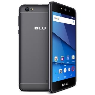 BLU Grand XL G150Q Unlocked GSM Phone - Black (Certified Refurbished)