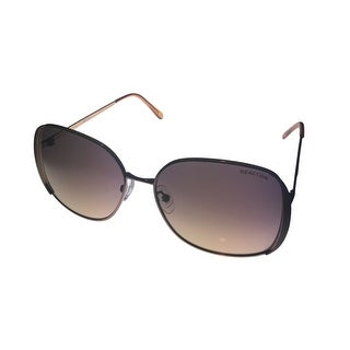 Kenneth Cole Reaction Sunglass Gold Tan Fashion Square Metal KC1188 47F - Medium