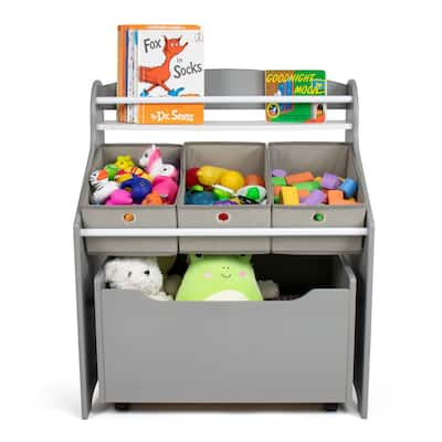 Humble Crew Camden 3-in-1 Toy Storage Organizer with Rollout Toy Chest - One Size