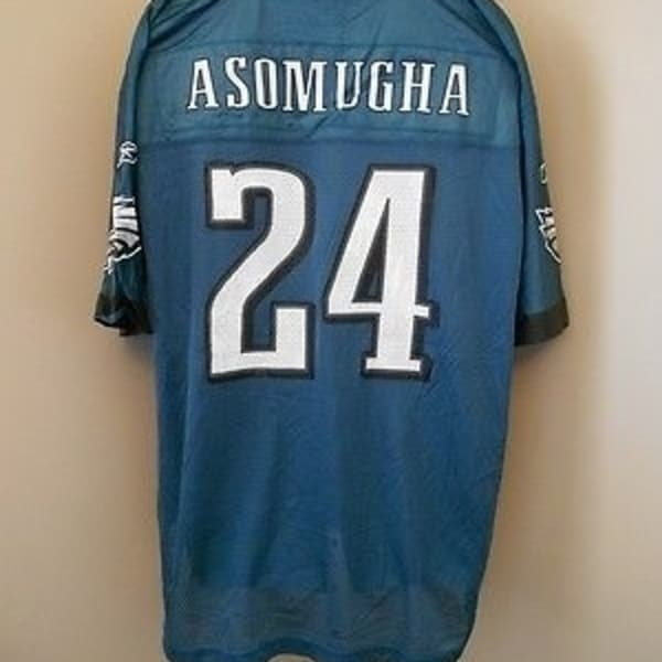 34a705e4813 Shop NO-FRONT-FLAW NNAMDI ASOMUGHA PHILADELPHIA EAGLES SMALL Reebok Jersey  12iT - On Sale - Free Shipping On Orders Over $45 - Overstock - 23510286