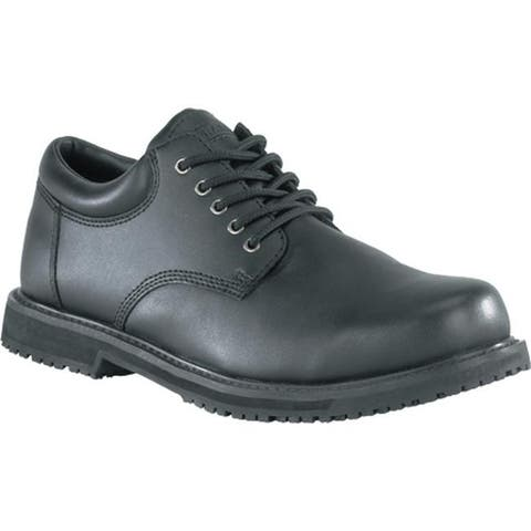Grabbers Men's Friction Black Leather