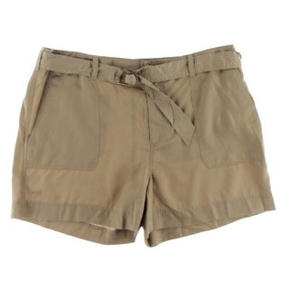 Lauren Ralph Lauren Womens Casual Shorts Woven Belted|https://ak1.ostkcdn.com/images/products/is/images/direct/3eda0edd196d2e7133811f40f4dea632db213cc2/Lauren-Ralph-Lauren-Womens-Casual-Shorts-Woven-Belted.jpg?_ostk_perf_=percv&impolicy=medium