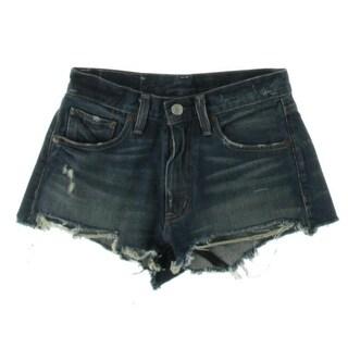Denim & Supply Ralph Lauren Womens Ella Cutoff High Rise Denim Shorts - 25