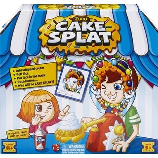Cake Splat Board Game, Family Games by Value Source Int