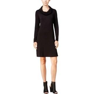 Kensie Womens Wear to Work Dress Cowl-Neck Pull On - L