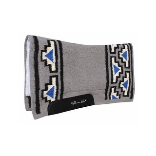 Professionals Choice Saddle Pad Fleece Lining 100% Wool Top - 33 x 38