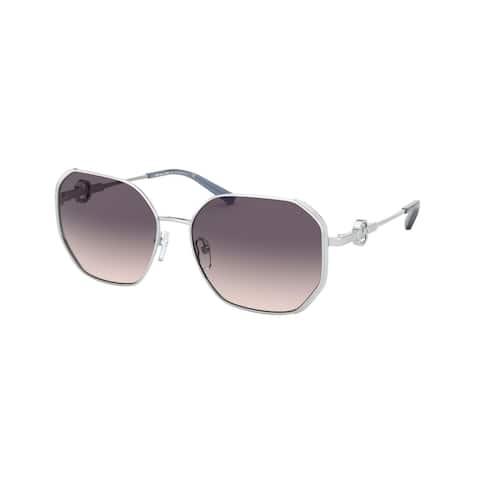 Michael Kors MK1074B 115336 57 Silver Woman Irregular Sunglasses