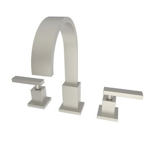 Newport Brass 2040 Double Handle Widespread Bathroom Faucet from the Secant Collection