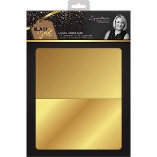 15 Matte; 15 Mirror - Sara Davies Signature Luxury Cardstock A4 30/Pkg