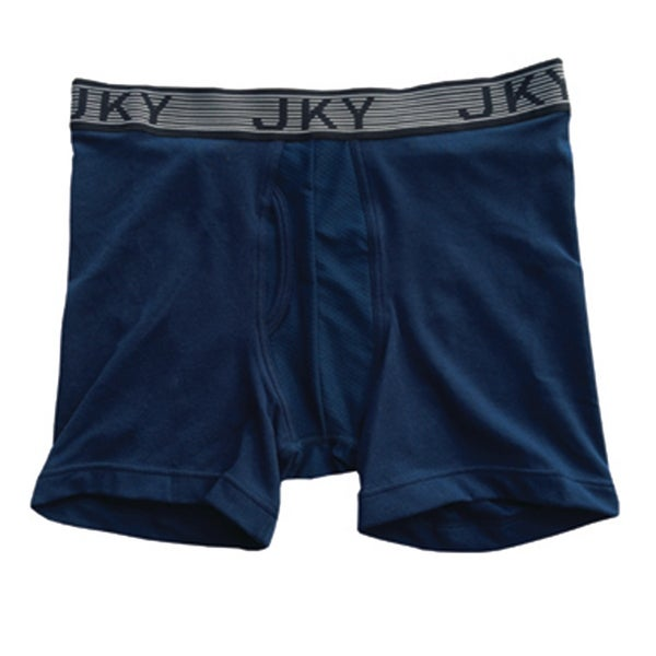 dffaa8ec2101 Shop Jockey 5942 Men's JKY Sport Cotton Boxer Brief, Just Past Midnight,  Large - Free Shipping On Orders Over $45 - Overstock - 20376296