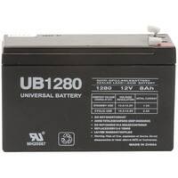 Upg 85986/D5743 Sealed Lead Acid Batteries (12V; 8Ah; .187 Tab Terminals; Ub1280)